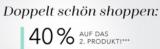Douglas 40% auf das zweite Produkt