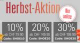 Ochsner Shoes: 10% ab 79.90 / 20% ab 149.90 / 30% ab 199.90 CHF