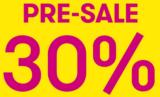 Pre-Sale bei Vögele Shoes -30%