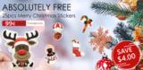 25x Weihnachtssticker bei Zapals im Freedeal