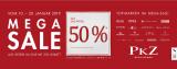 PKZ 50% Rabatt auf alle gekennzeichneten Artikel