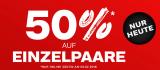 Dosenbach – 50% auf Einzelpaare (nur heute)