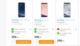 Galaxy S8 für 379.- sowie S9+ für 479.-