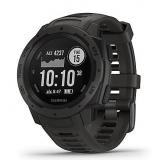 Garmin Instinct GPS Sportuhr (Rot, Grau und Schwarz)