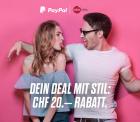DeinDeal.ch 20.- Reduktion wenn mit PayPal bezahlt wird (MBW: 100.-)