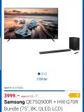 Samsung 8K TV mit Atmos Soundbar als Bundle