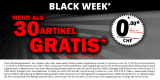 "Black Week bei Vedia- mehr als 30 verschiedene ""Gratis""-Artikel"