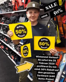 50% auf fast alles in der Sports Outlet Factory in Lyss