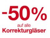 50% Rabatt auf alle Gläser, inklusive Gleitsichtgläser bei Visilab