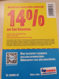 14% Rabatt auf alles bei jumbo.ch