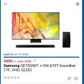 SAMSUNG 75Q90T und 85Q80T mit kostenloser Atmos Soundbar
