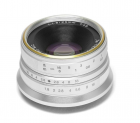 7Artisans 25mm F1.8 for Fujifilm X, Silver
