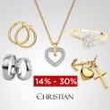 CHRISTIAN uhrenschmuck24.ch: Bis zu 30% Rabatt auf Schmuck zum Valentinstag