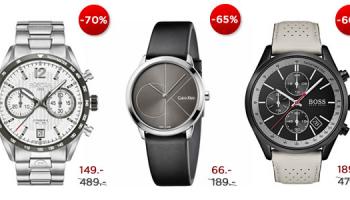 Bis 70% Rabatt auf viele Uhren (ab CHF 66.-) bei uhrenschmuck24.ch