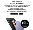 Galaxy S21 5G Trade-In promotion