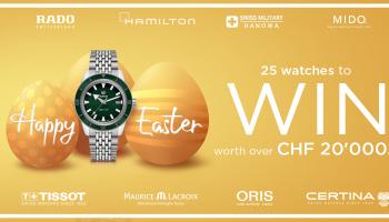 Nur noch bis morgen: Am grossen CHRISTIAN Oster-Gewinnspiel teilnehmen