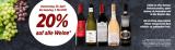 20% auf alle Weine im Denner (ausser Schaumweine und Bordeaux)