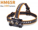 Stirnlampe Fenix HM65R 1400 Lumen Tri-proof Magnesium Scheinwerfer bei AliExpress