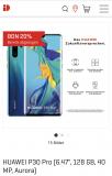 Huawei P30 Pro bei Interdiscount
