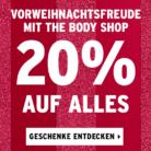 20% auf alles bei The Body Shop, z.B. Gift Oils of Life für CHF 95.96 statt CHF 119.95