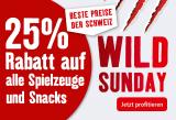Fressnapf: 25% Rabatt auf Spielzeug und Snacks (nur heute)