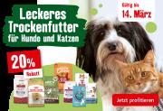 Fressnapf: 20% Rabatt auf Trockenfutter für Hund & Katze