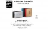 Cashback auf ausgewählte Samsung SSDs
