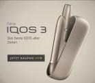 IQOS -10 CHF Rabattgutschein auf alle Produkte