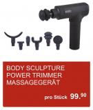 BODY SCULPTURE POWER TRIMMER Massagegerät bei Aldi