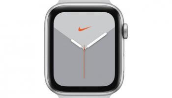 Apple Watch Series 5 Nike+ 44mm GPS Silber Platinum