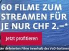 """60 Filme zum Streamen für je CHF 2.- bei exlibris, z.B. """"Real Steel"""" oder """"Wir sind die Millers"""""""