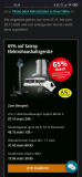 65% Rabatt auf alle Satrap Elektrohaushaltsgeräte