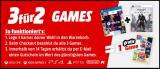 3 für 2 Games bei Media Markt (auch Neuheiten und Vorbestellungen)