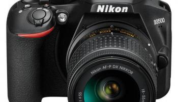 Nikon D3500 + AF-P DX18-55mm VR bei Fust