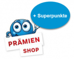500 oder 300 Superpunkte beim Supercard Prämienshop erhalten
