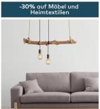 30% auf Möbel und Heimtextilien (Quelle)