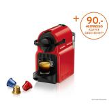 Nespresso Inissia Rot bei Interdiscount für 50.- + 90.- Gutschein bei Nespresso geschenkt