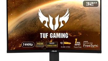 ASUS TUF Gaming-Monitor VG32VQ bei microspot