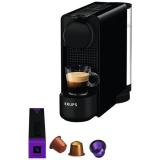 Krups Essenza Plus schwarz zum Bestpreis + Gratis Kaffee im Wert von CHF 90.-