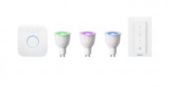 PHILIPS Hue White and Color Ambiance Starter Kit zum Bestpreis bei MediaMarkt