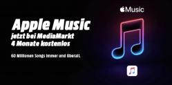 Apple Music 4 Monate gratis bei Mediamarkt – Kündigung nötig