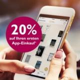 """20% auf den ersten App-Einkauf bei Orell Füssli, z.B. """"Die Hauptstadt"""" von Robert Menasse für CHF 29.52 statt CHF 36.90"""