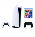 Playstation 5 /PS5 Bundle inkl. zusätzlichem Midnight Black Controller & Ratchet & Clank: Rift Apart