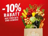 Lidl Super Weekend: 10% Rabatt auf Früchte & Gemüse am 24.9. & 25.9.