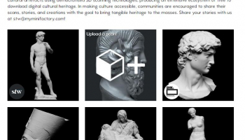 Scan The World: Gratis Kulturartefakte als 3D-Druckvorlagen