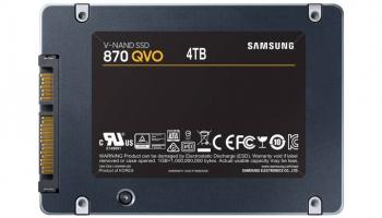 SAMSUNG 870 QVO 4TB SSD bei Interdiscount zum Bestpreis