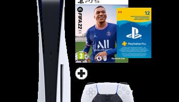PlayStation 5 Bundle (Fifa 22 + PS Plus) jetzt verfügbar bei MediaMarkt