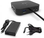 i-Tec USB-C-Docking-Station (2x4k@60Hz, bis zu 100W PD) inkl. 65W-Netzteil bei Amazon (kein Liefertermin)