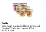Gratis Joghurt in der supercard App