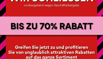 40-70% Rabatt bei Vögele Shoes (Lokal in den Filialen)